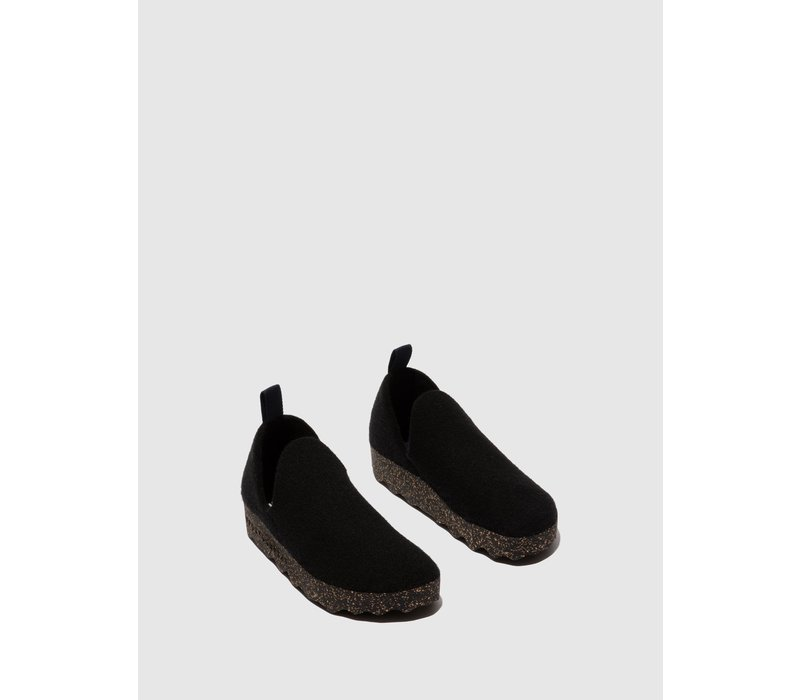 M's Slip-on Shoes CITY - Black