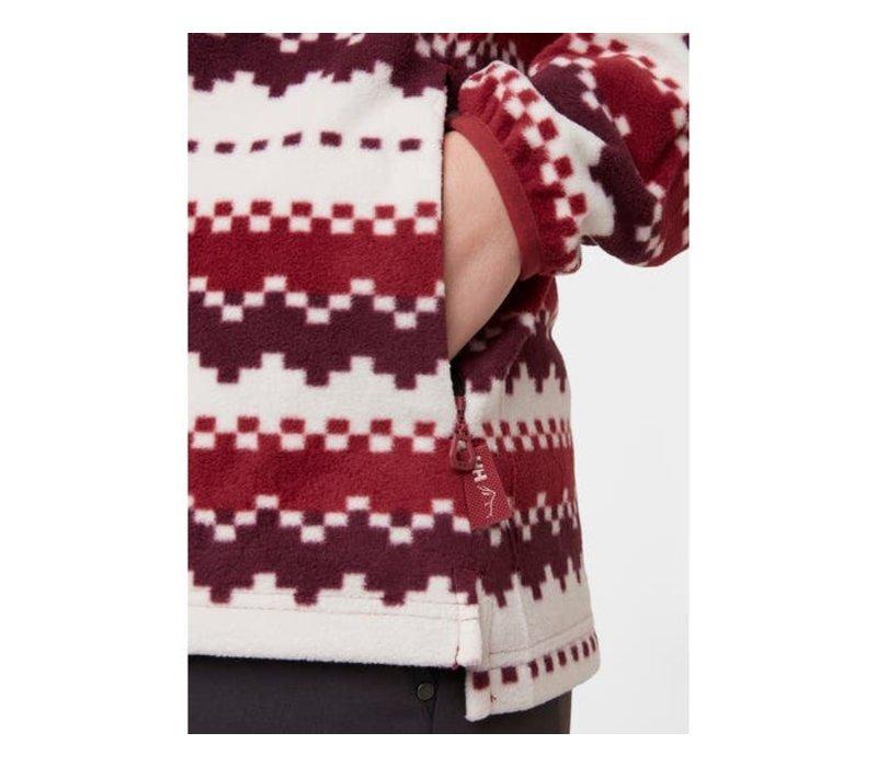 W Kulpen Printed Fleece