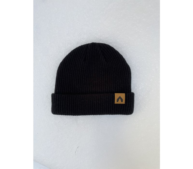 Olodge Fisherman Beanie - Black