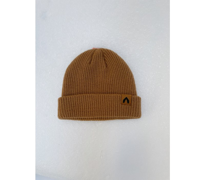 Olodge Fisherman Beanie - Latte