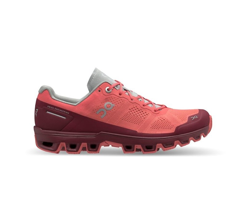 Cloudventure - Women's - Coral/Mulberry