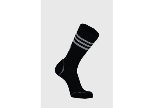 MonsRoyale M's Signature Crew Sock - Black/Grey