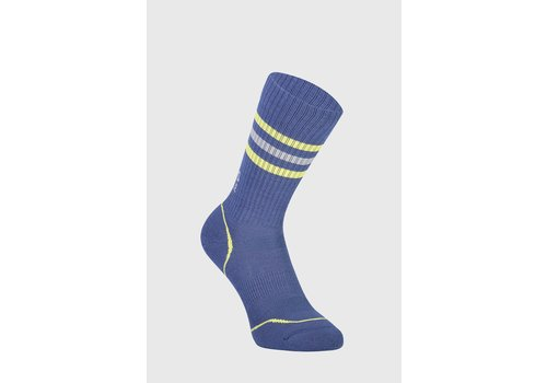 MonsRoyale W's Signature Crew Sock - Ink/Lemon