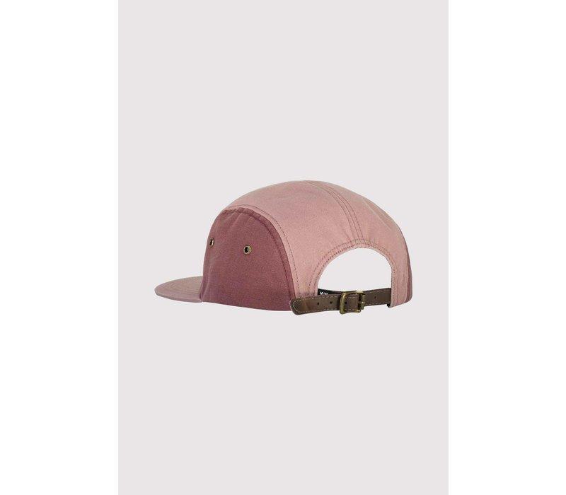 Beattie 5 Panel Cap - Pink Clay