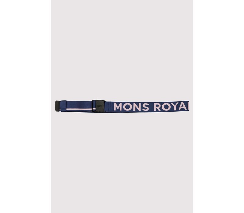 Mons Belt - Dark Denim / Powder Pink