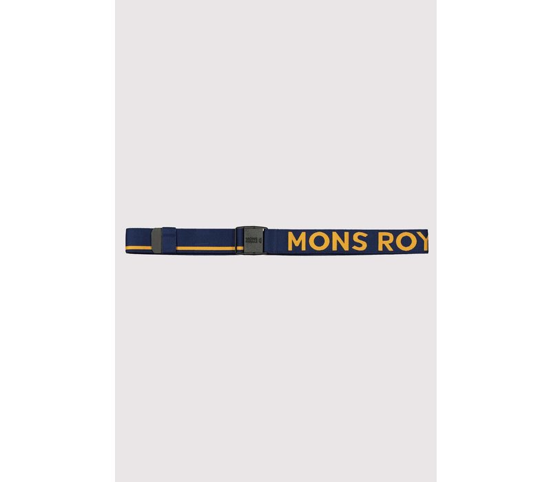 Mons Belt - Navy / Honey