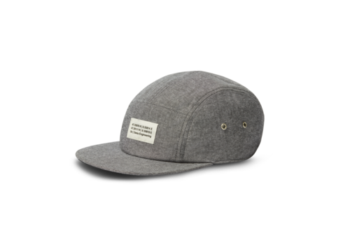 On Running 5 Panel Cap - U Grey