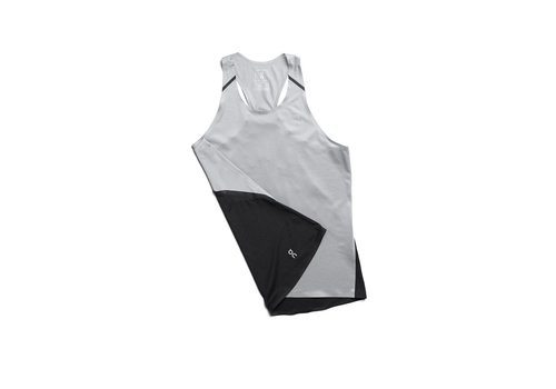 On Running Tank T Women's - Galcier/Black