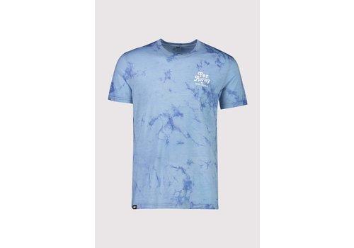 MonsRoyale Men's Icon T-Shirt - Tie Dye Dark Denim