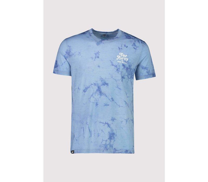 Men's Icon T-Shirt - Tie Dye Dark Denim