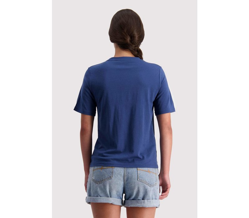 W's Icon Relaxed Tee - Dark Denim