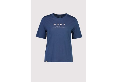 MonsRoyale W's Icon Relaxed Tee - Dark Denim