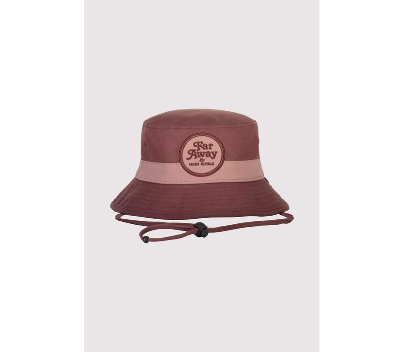 Beattie Bucket Hat - Pink Clay