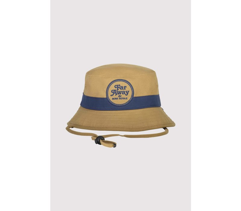 Beattie Bucket Hat - Dark Denim/Honey - SM