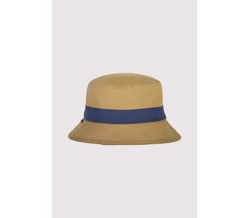 Beattie Bucket Hat - Dark Denim/Honey - LXL