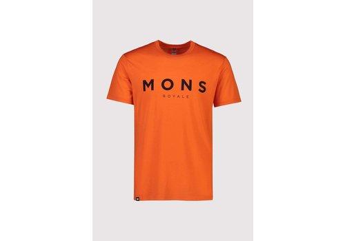 MonsRoyale Men's Icon T-Shirt - Orange Smash