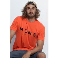 Men's Icon T-Shirt - Orange Smash