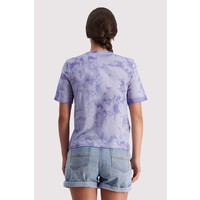 W's Icon Relaxed Tee - Tie Dyed Lilac