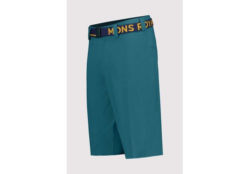 MonsRoyale Men's Virage Bike Shorts - Deep Teal