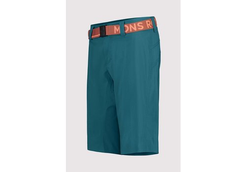 MonsRoyale W's  Virage Bike Shorts - Deep Teal
