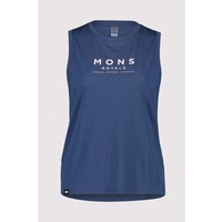 W's Icon Relaxed Tank - Dark Denim