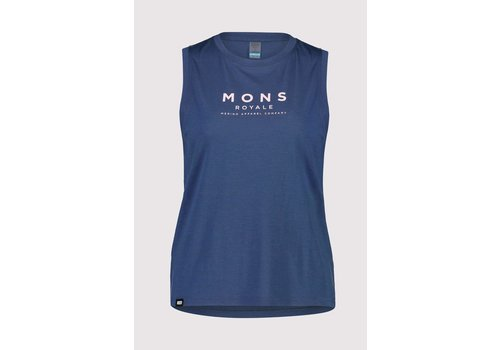 MonsRoyale W's Icon Relaxed Tank - Dark Denim