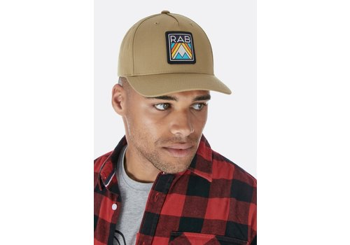 Rab Base Cap - Old Gold Aztec