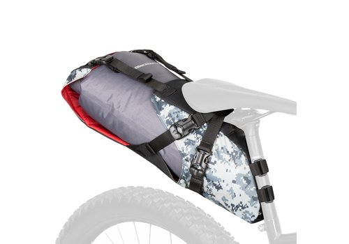 Outpost Seatpack W/Drybag - Grey Digicamo