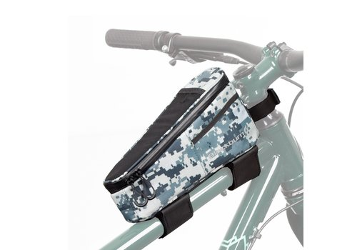 Top Tube Bag - Grey Digicamo