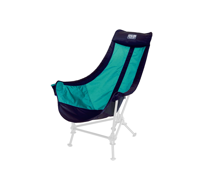 Lounger DL Chair - Navy Seafoam