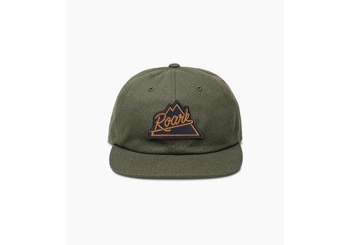 Roark Peaking Hat - Olive