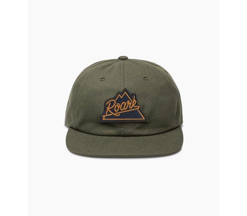 Peaking Hat - Olive