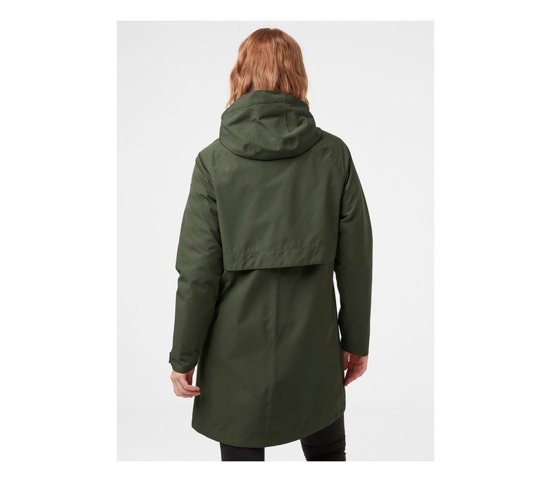 W Mono Material Raincoat
