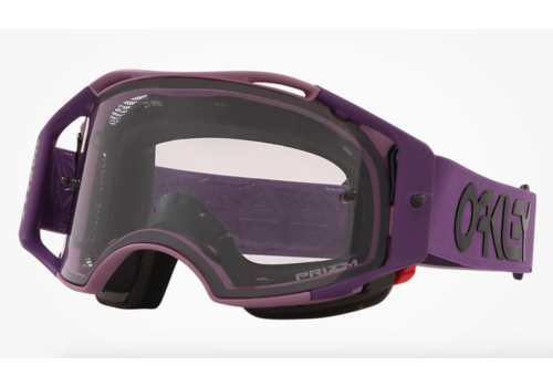 OAKLEY Airbrake MTB - Heritage Stripe Lavender W/ Prizm MX  Low Light