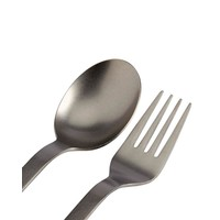 Titanium Fork & Spoon Set