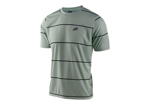 Troy Lee Designs Flowline SS Jersey - Stacked Smoke Green