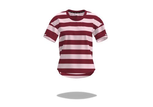 Ciele Athletics WNSBTShirt - Stripe - Rosebars