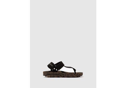 ASPORTUGUESAS FIZZ Sandals - Black