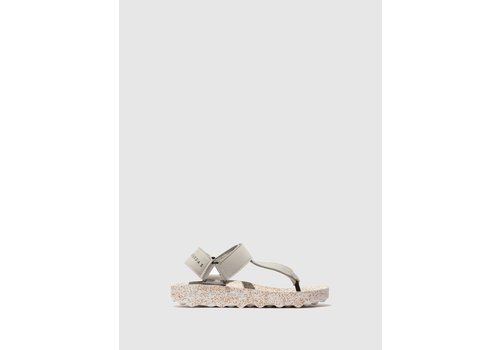 ASPORTUGUESAS FIZZ Sandals - Grey/White
