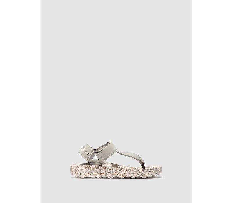 FIZZ Sandals - Grey/White