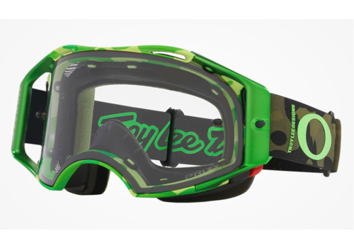OAKLEY Airbrake MTB TLD - Dazzle Green w/Prizm Low Light