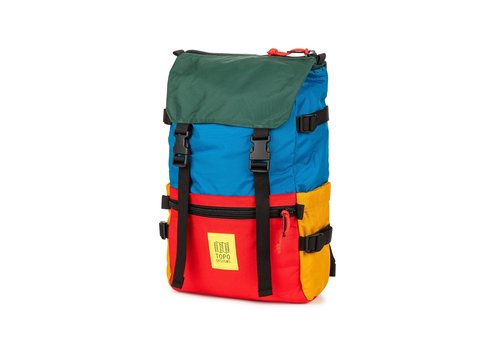 Topo Designs Rover Pack - Blue/Red/Forest