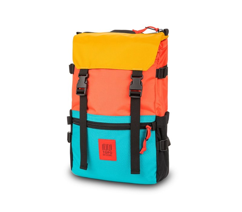 Rover Pack - Hot Coral/Turquoise/Mustard