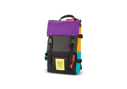 Topo Designs Rover Pack Mini - Ripstop/Black/Purple