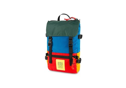 Topo Designs Rover Pack Mini - Blue/Red/Forest