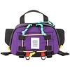 Topo Designs Subalpine Hip Pack - Purple/Black Ripstop