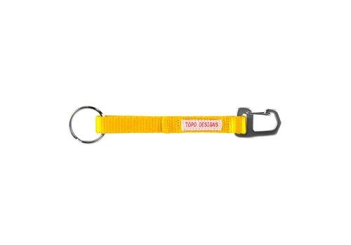 Topo Designs Key Clip - Yellow