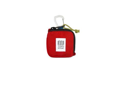 Topo Designs Square Bag - Red