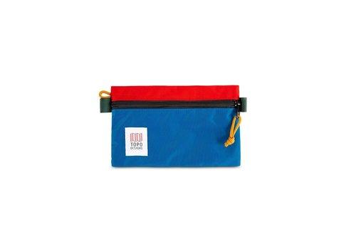 Topo Designs Accessory Bag - Small - Blue/Red