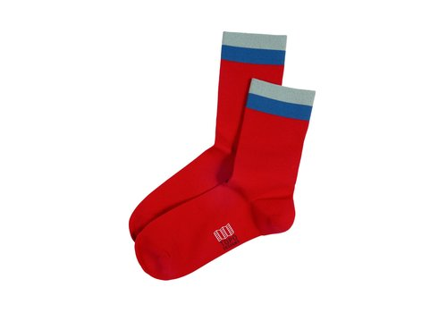 Topo Designs Sport Sock - Red